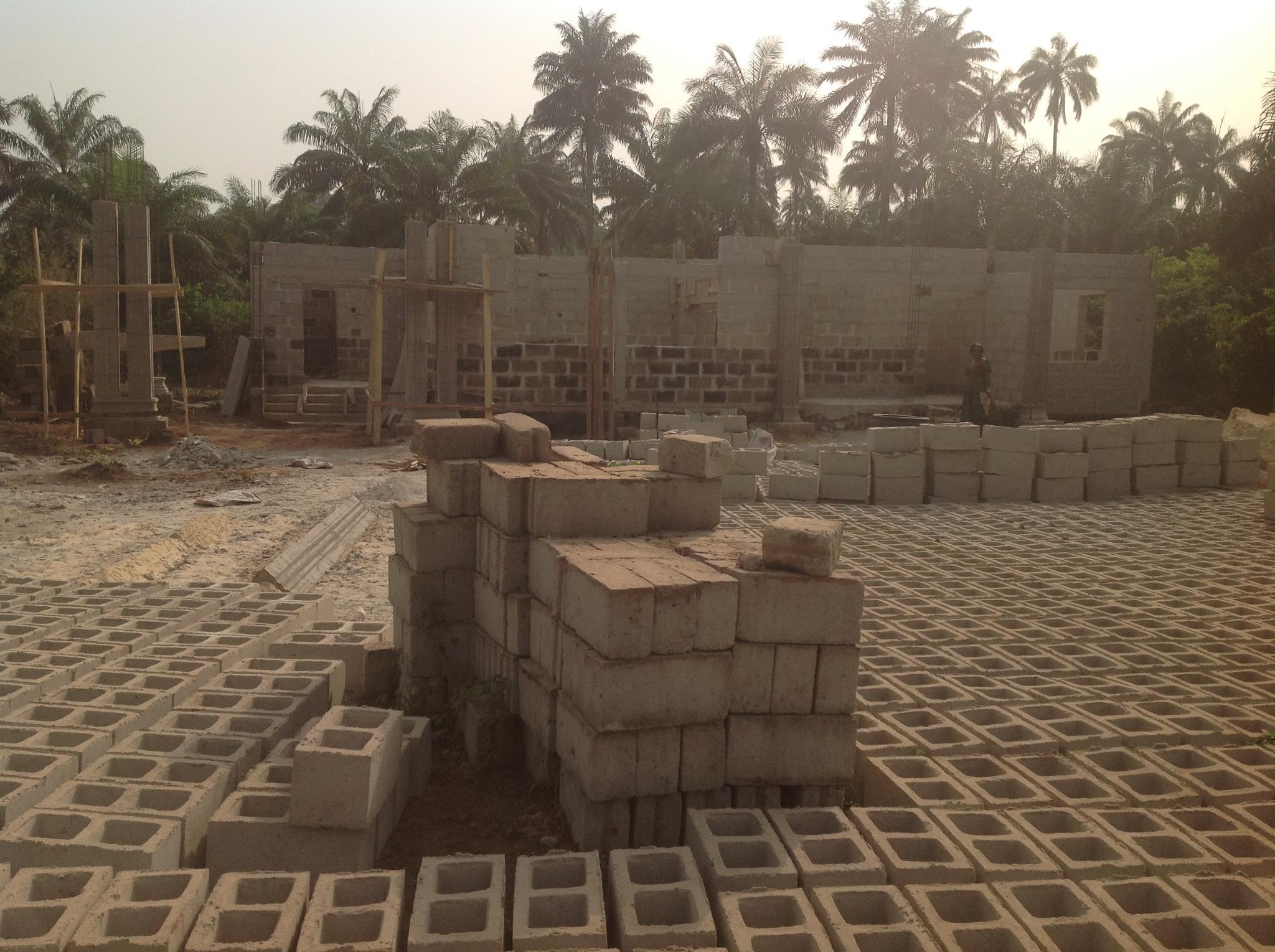 Nigerian Center ready for decking