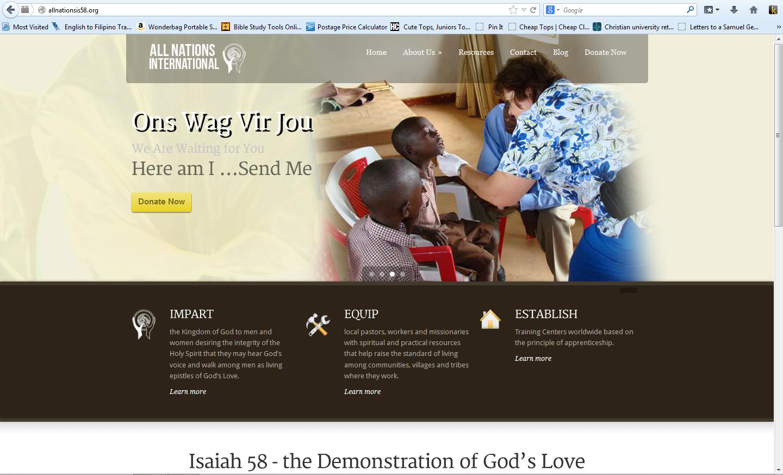 ANI Website 2