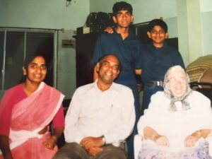 Pastor Kumar with Rev. Agnes I. Numer in Inida, 1997.