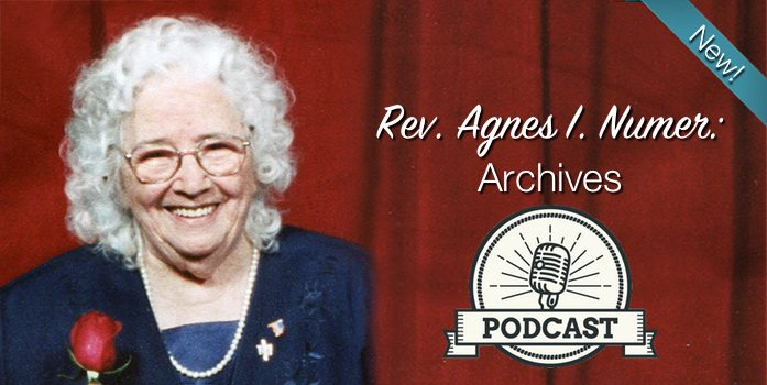 Rev. Agnes I. Numer: Archives