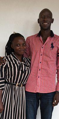 Prillah today and Emmanuel